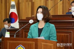 영동군의회 정은교 의원, 힐링사업소 업무추진 문제점. 개선 요구